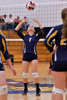 9/18/17 Cowanesque Valley vs Oswayo Valley Volleyball