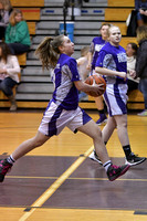 2/27/17 Coudersport vs Oswayo Valley Girls Jr High Basketball