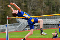 04/27/17 Coudersport vs Johnsonburg Rams Track Meet