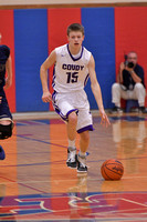2/28/17 D9 Playoff - Coudersport vs Clarion-Limestone Boys Basketball
