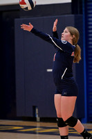 10/17/17 Cowanesque Valley vs Sayre Redskins Volleyball