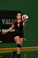 10/12/17 Oswayo Valley (homecoming) vs Galeton Volleyball