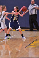 2/6/18 Cowanesque Valley vs Mansfield Girls Jr High Basketball