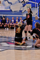 11/2/17 Otto-Eldred vs Clarion Area, Volleyball playoff